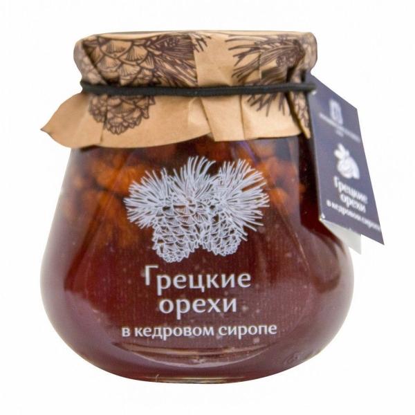 Грецкие орехи Косьминский гостинец в кедровом сиропе
