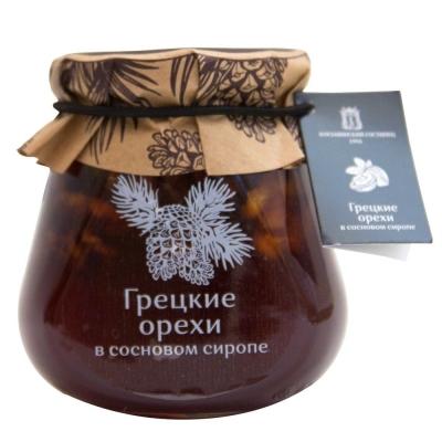 Грецкие орехи Косьминский гостинец в сосновом сиропе