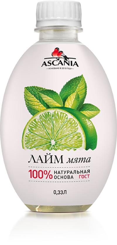 Напиток 'Аскания' Лайм-мята