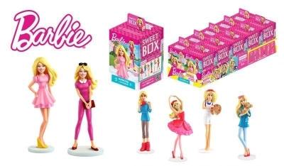 Мармелад Barbie Sweet Box с игрушкой в коробочке