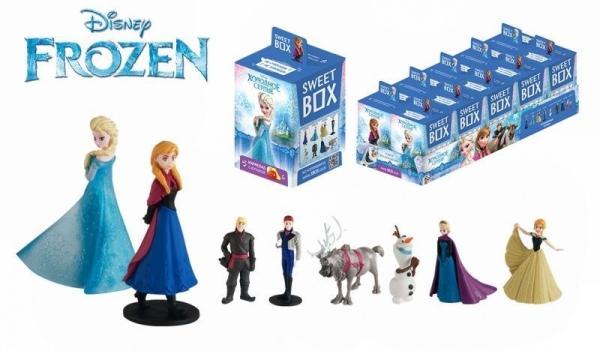 Мармелад Disney Холодное сердце Sweet Box с игрушкой