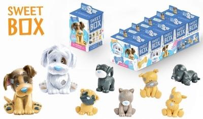 Мармелад MY BLUE NOSE FRIENDS щенята Sweet Box с игрушкой