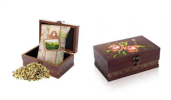 Чай Teabreeze ЗОЛОТОЙ АССАМ деревянная шкатулка