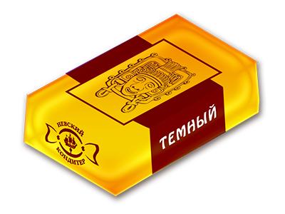 Мини-плитки 'Дип' темный шоколад