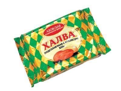 Халва 'Азовская' подсолнечная с арахисом