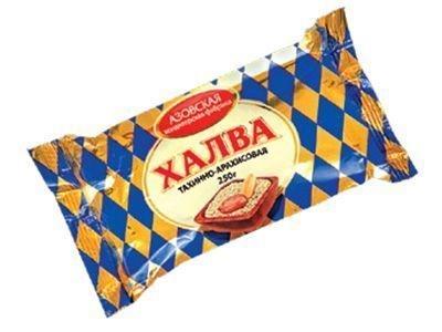 Халва 'Азовская'  тахинно-арахисовая