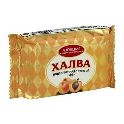 Халва 'Азовская' подсолнечная с курагой