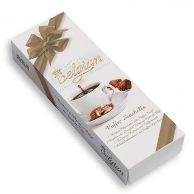 Конфеты шоколадные The Belgian с ароматом кофе
