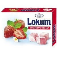 Лукум Zaharni zavodi со вкусом клубники