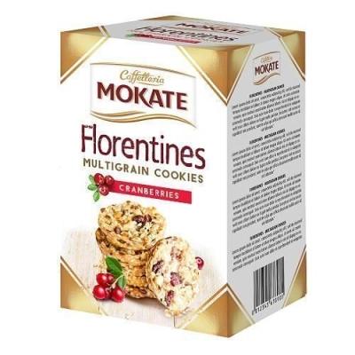 Печенье флорентийское 'Мокате' мультизерновое с клюквой