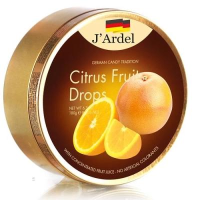 Леденцы 'J'Ardel' со вкусом цитрусовых фруктов