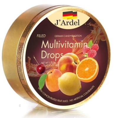 Леденцы 'J'Ardel' Мультивитамин с фруктовой начинкой