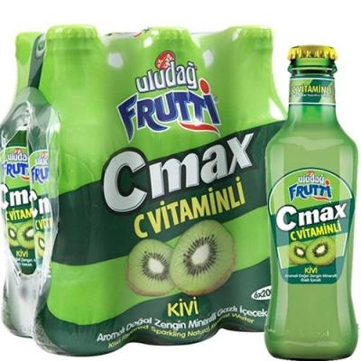 Напиток Uludag Frutti/Улудаг Фрутти безалкогольный среднегазированный со вкусом киви и с витамином С