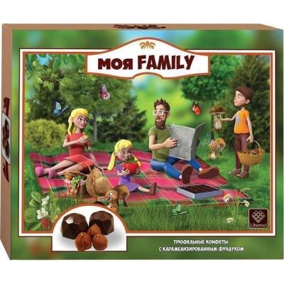 Трюфель 'Моя Family' с карамелизированным фундуком