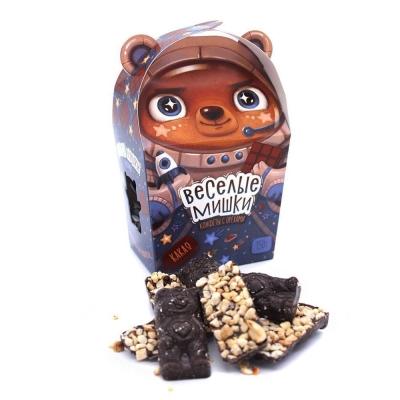 Конфеты с орехами 'Веселые мишки' с какао