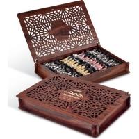 Конфеты из пашмалы Hajabdollah Ассорти в деревянной упаковке в сумке