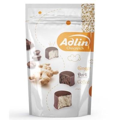 Конфеты из пашмалы Hajabdollah Ассорти со вкусом имбиря, какао 60% и кофе 'Adlin' zip-пакет