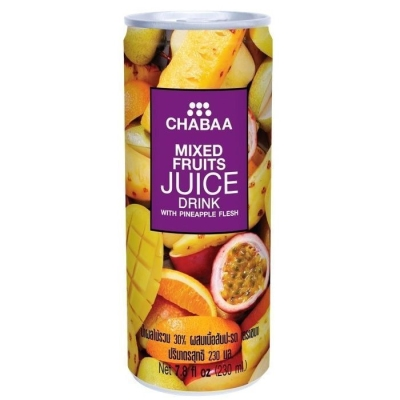 Напиток CHABAA мультифрукт с мякотью ананаса