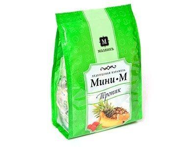 Карамель леденцовая 'МАЛВИКЪ' Мини-М Тропик