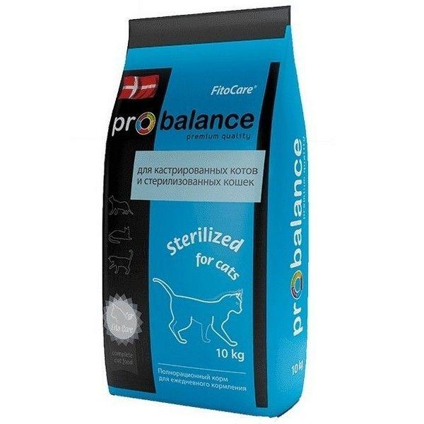 Корм сухой ProBalance для кошек Sterilized