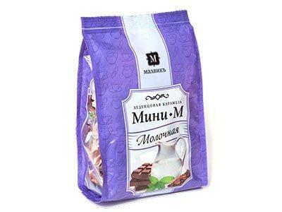 Карамель леденцовая 'МАЛВИКЪ' Мини-М Молочная