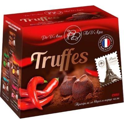 Шоколадный набор ПоД'Ари Трюфель со вкусом красного перца чили