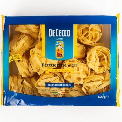 Макаронные изделия De Cecco из твердых сортов пшеницы Феттучине-233