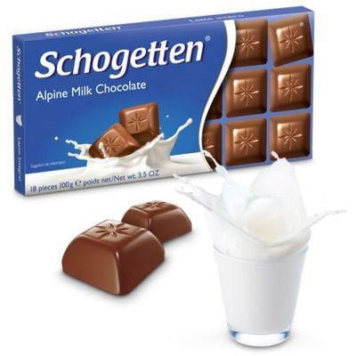 Шоколад молочный Schogetten Alpen Milk Chocolate