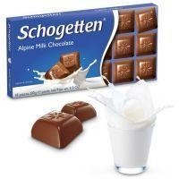Шоколад молочный Schogetten Alpen Milk Chocolate