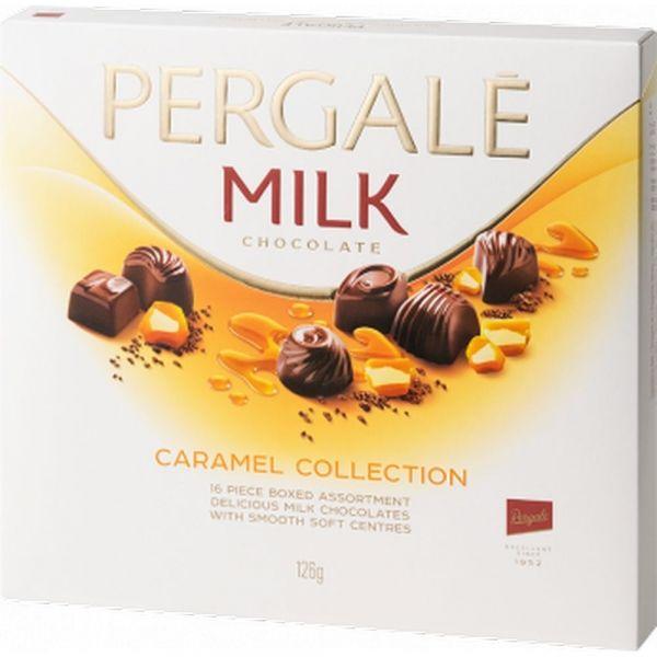 Шоколадный набор Pergale Карамельная коллекция из молочного шоколада