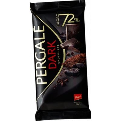 Шоколад горький Pergale 72%