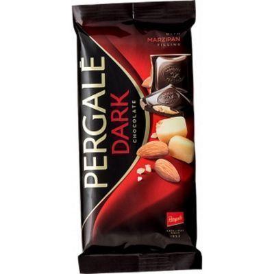 Шоколад темный Pergale с марципановой начинкой