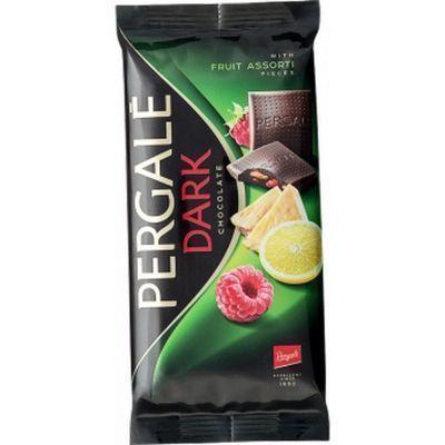 Шоколад темный Pergale фруктовое ассорти