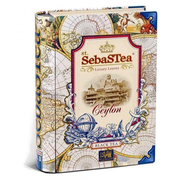 Чай черный SebaSTea Ceylon ж/б