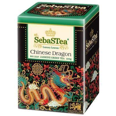 Чай зеленый SebaSTea Chinese Dragon