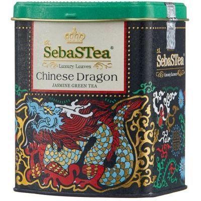 Чай зеленый SebaSTea Chinese Dragon ж/б