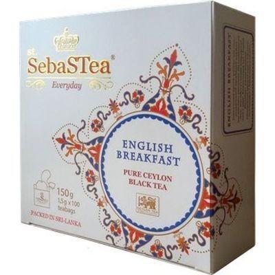 Чай черный SebaSTea English Breakfast 100 пак.