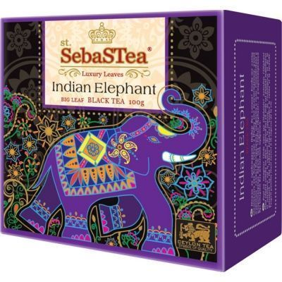 Чай черный SebaSTea Indian Elephant (Box Board Cartons)