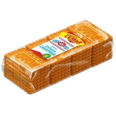 Печенье Дымка Слободка сахарная