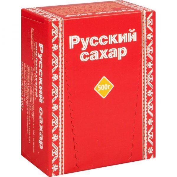 Сахар белый Русский кусковой