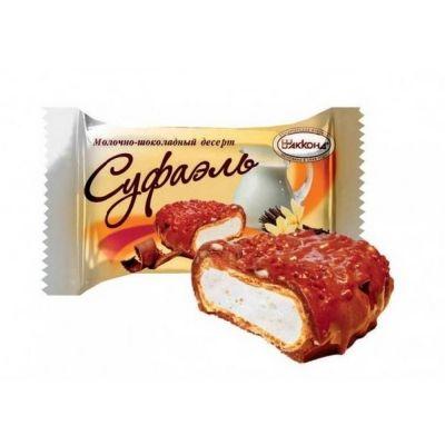 Конфеты Акконд Суфаэль молочно-шоколадный десерт ваниль