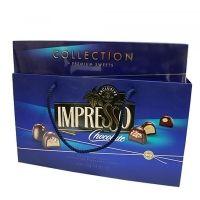 Шоколадный набор Спартак Impresso (синий дизайн)