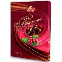 Шоколадный набор Спартак Вишенка
