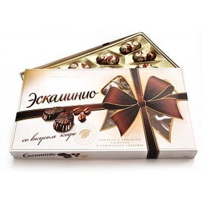 Шоколадный набор Спартак Эскаминио (Escaminio) со вкусом кофе