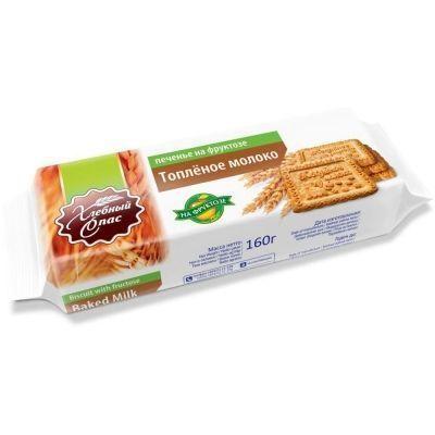 Печенье Хлебный Спас на фруктозе со вкусом топленого молока