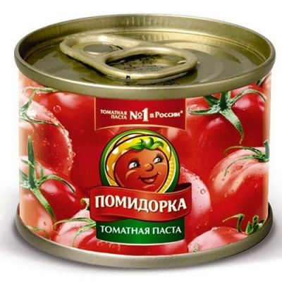 Томатная паста Помидорка 25-28% ж/б