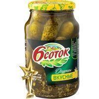 Огурцы Шесть соток вкусные