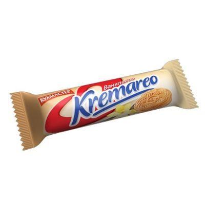 Печенье Кухмастер Kremareo сахарное с ванильной начинкой