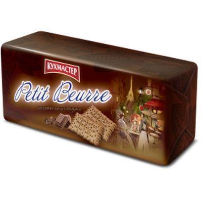 Печенье Кухмастер Petit Beurre шоколадное