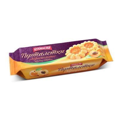 Печенье Кухмастер Абрикосовые тарталетки